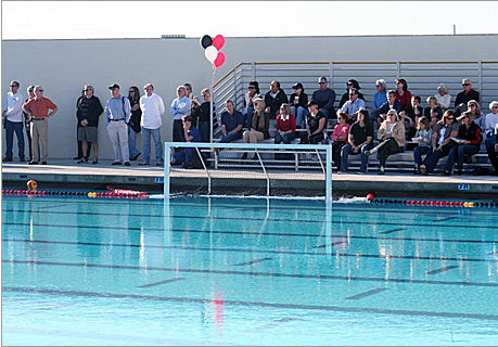Booster Club sponsored swimming pool at PVHS