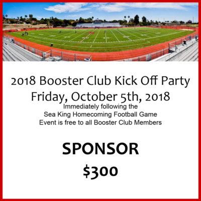 Sponsor PV Booster Club Kick-Off Party 2018