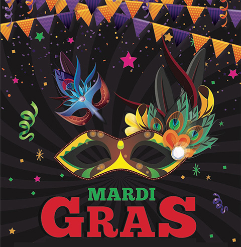 Mardi Gras March 9, 2019 – Catch the Wave